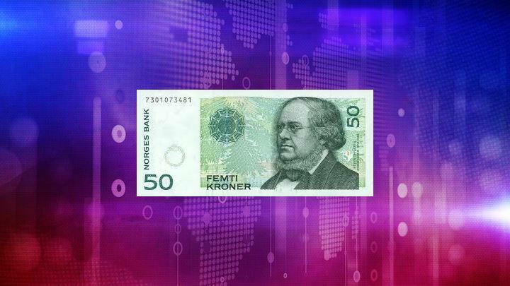 1 year US Dollar-Norwegian Krone (USD/NOK) chart   Chartoasis